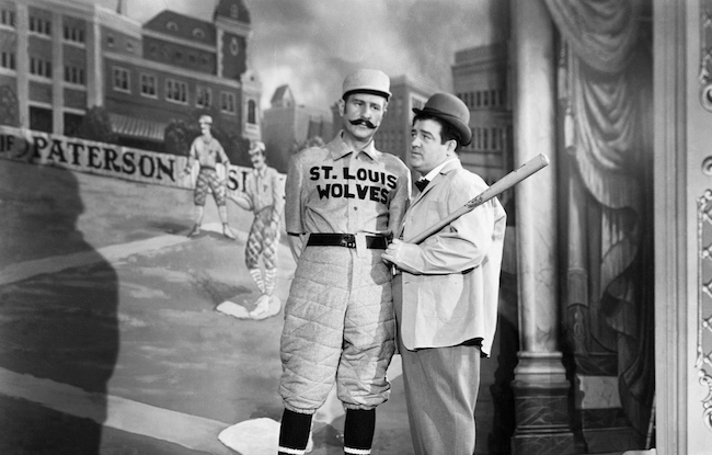 Abbott and Costello in The Naughty Nineties